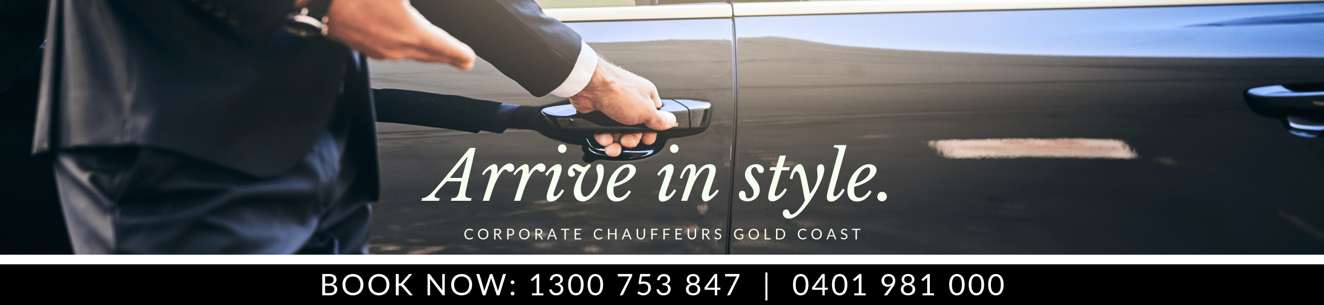 Corporate Chauffeurs Gold Coast - Arrive in Style